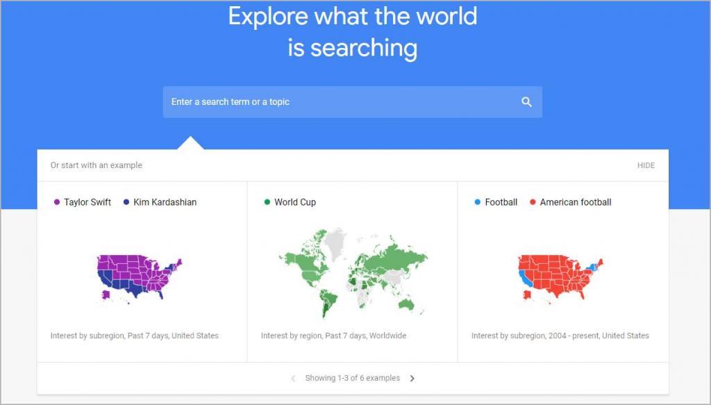 Google Trends - Best Free SEO Tools Online