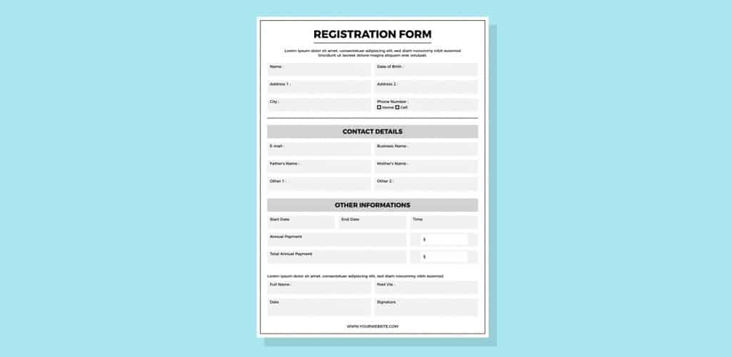 Complicated Form Filling